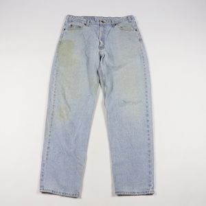 90s Levis 550 Mens 36x32 Distressed Relaxed Jeans